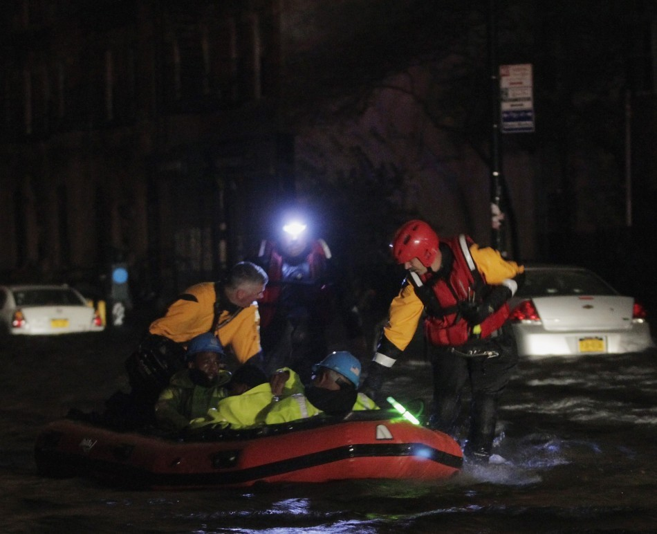 Sandy Floods