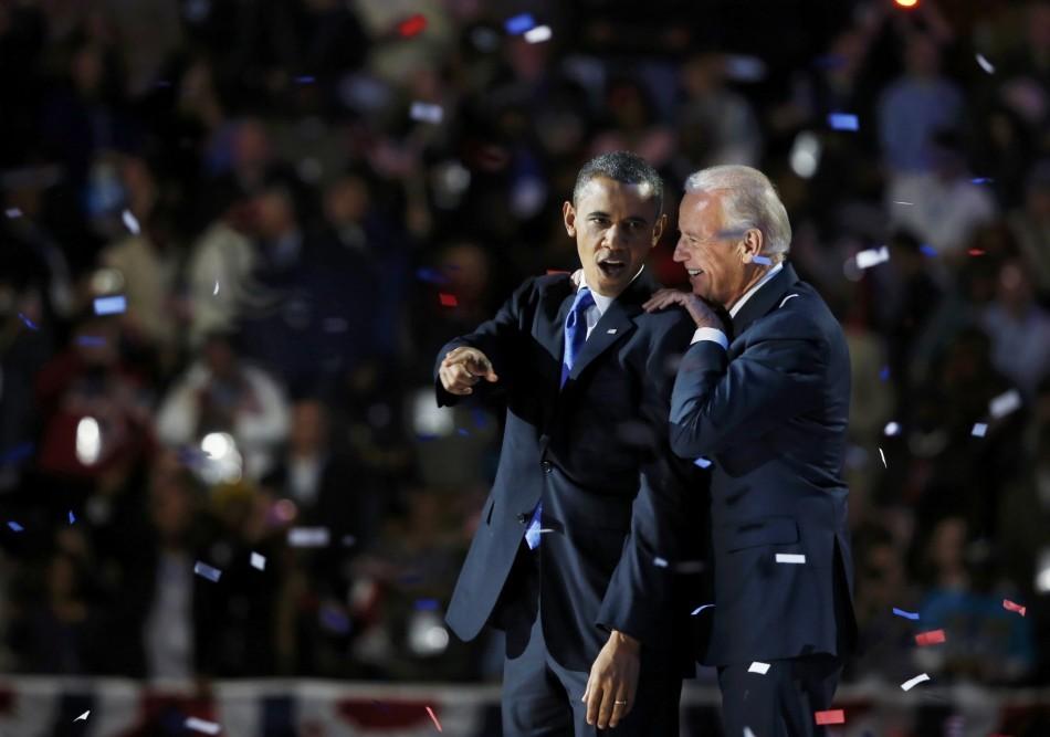 Barack Obam, Joe Biden
