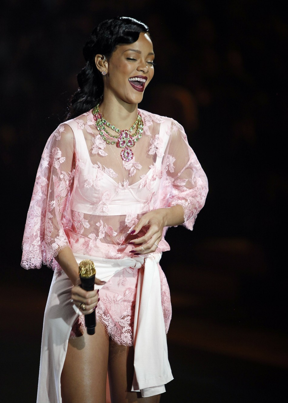 Rihanna , Victoria's Secret Fashion Show