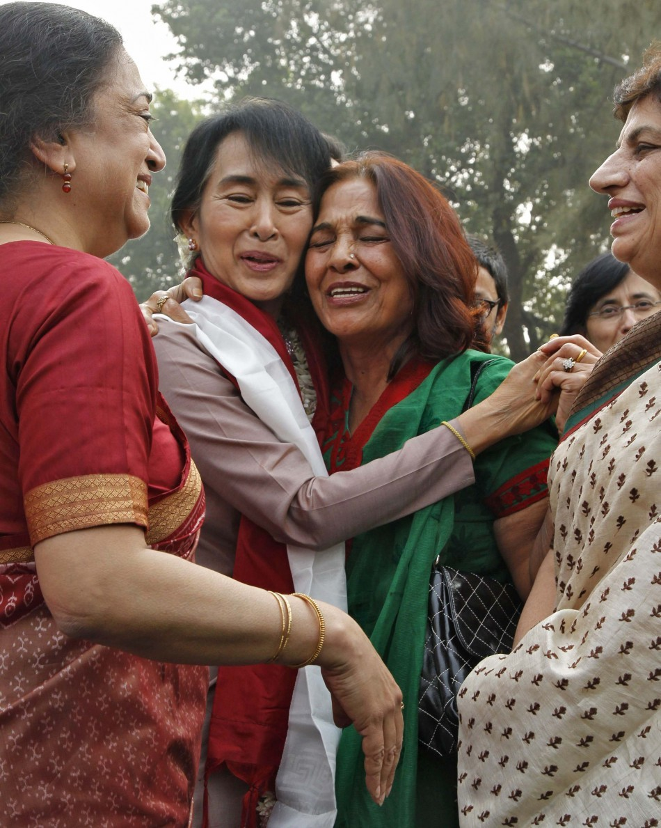 Aung San Suu Kyi Takes A Walk Down Memory Lane, Feels Herself 'Partly A Citizen Of India' (PHOTOS)