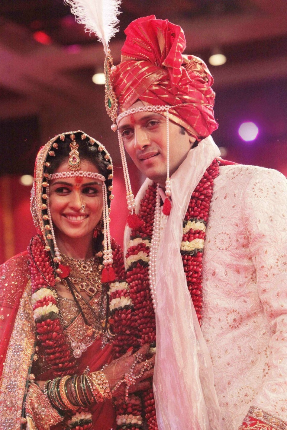 2. Riteish Deshmukh and Genelia D'Souza