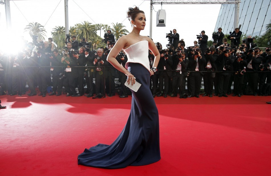 Aishwarya Rai at Cannes Film Festival Red Carpet