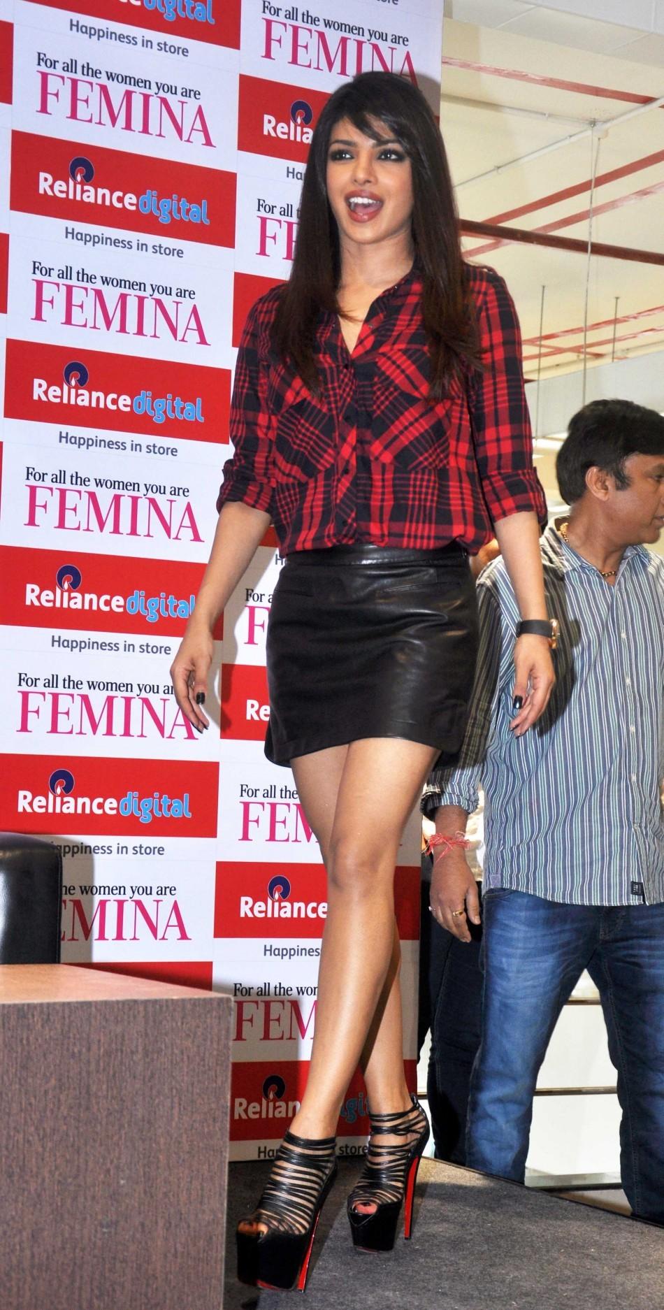 Priyanka Chopra unveils Femina Magazine Cover (Varinder Chawla)