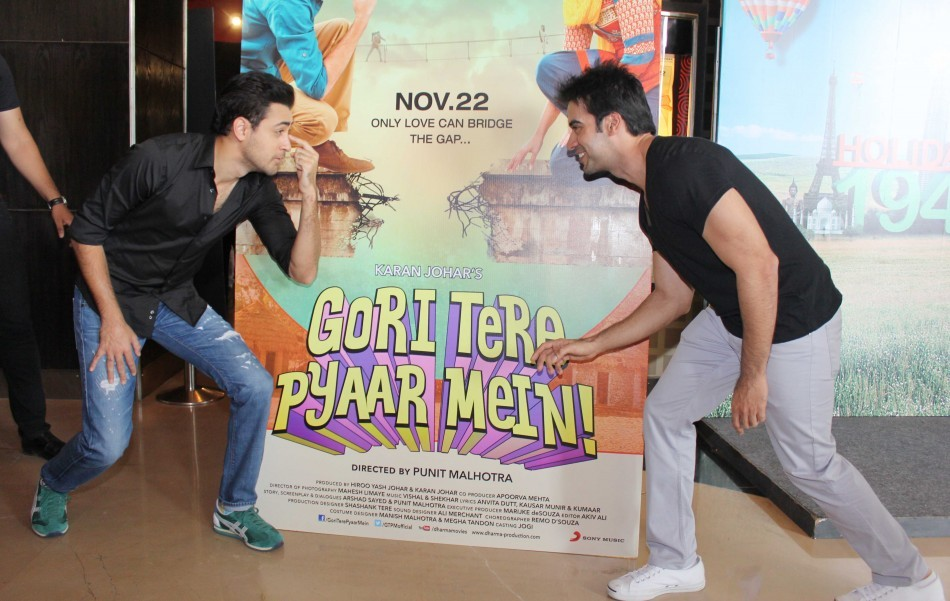 Imran Khan and director Punit Malhotra at Gori Tere Pyaar Mein Event ( Varinder Chawla)