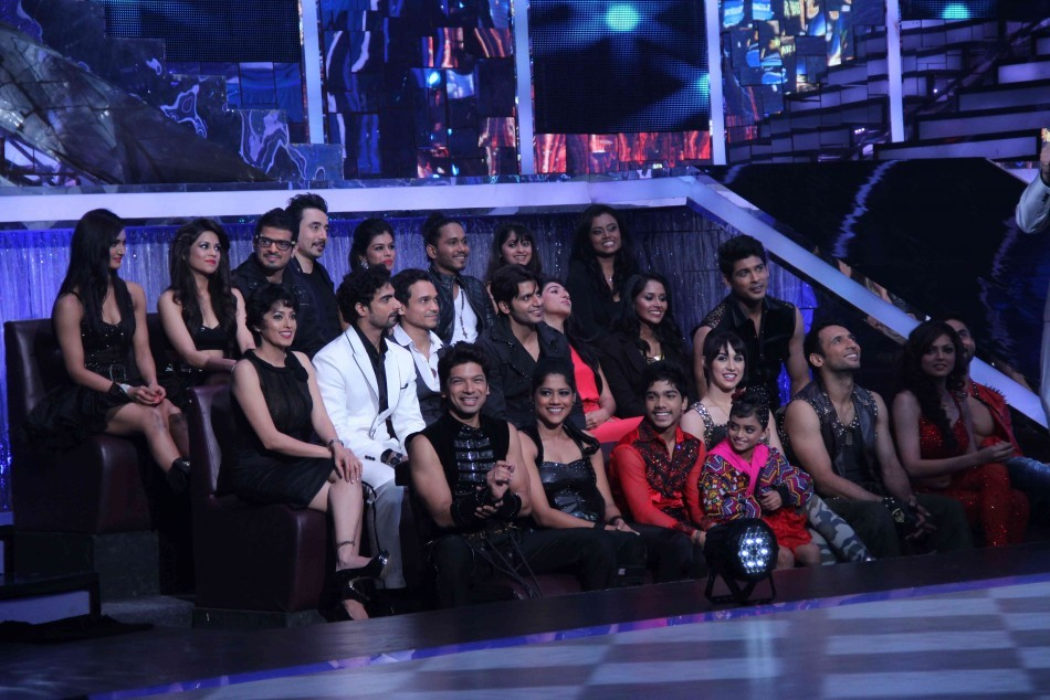 The celebrity contestants of the show (photo: Varinder Chawla)