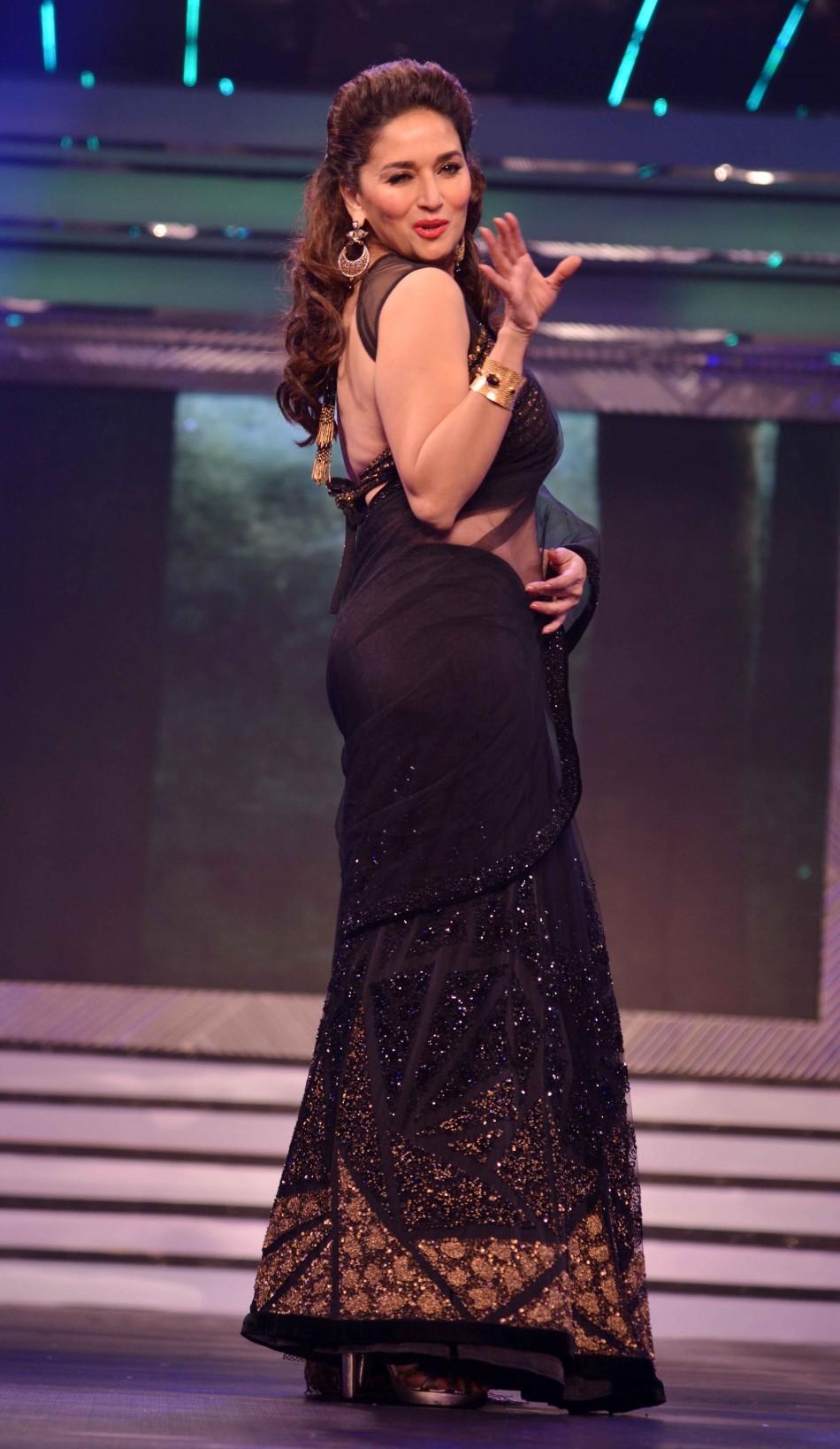 Madhuri Dixit sizzles in Black (Varinder Chawla)