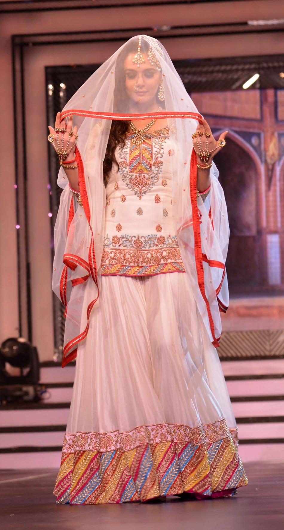 Preity Zinta in her