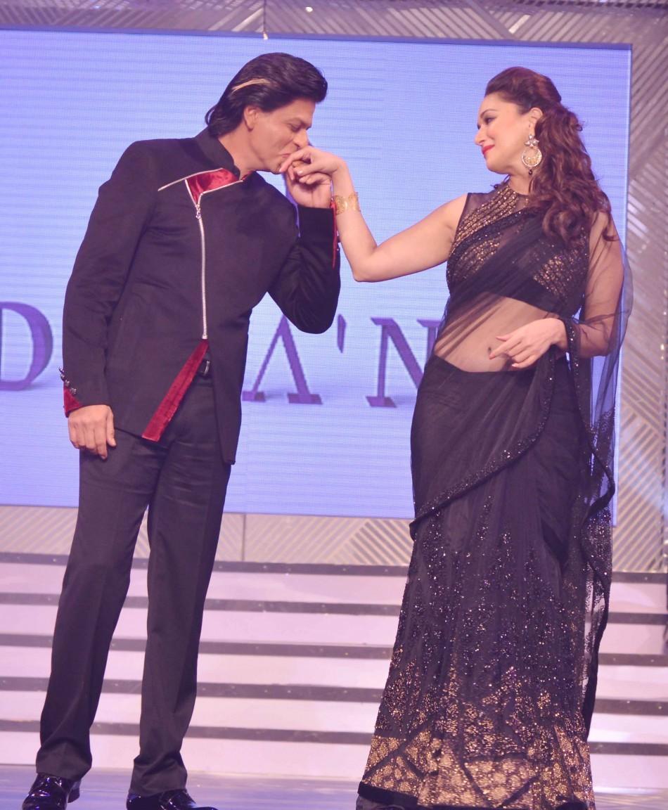 Shah Rukh and Madhuri share a