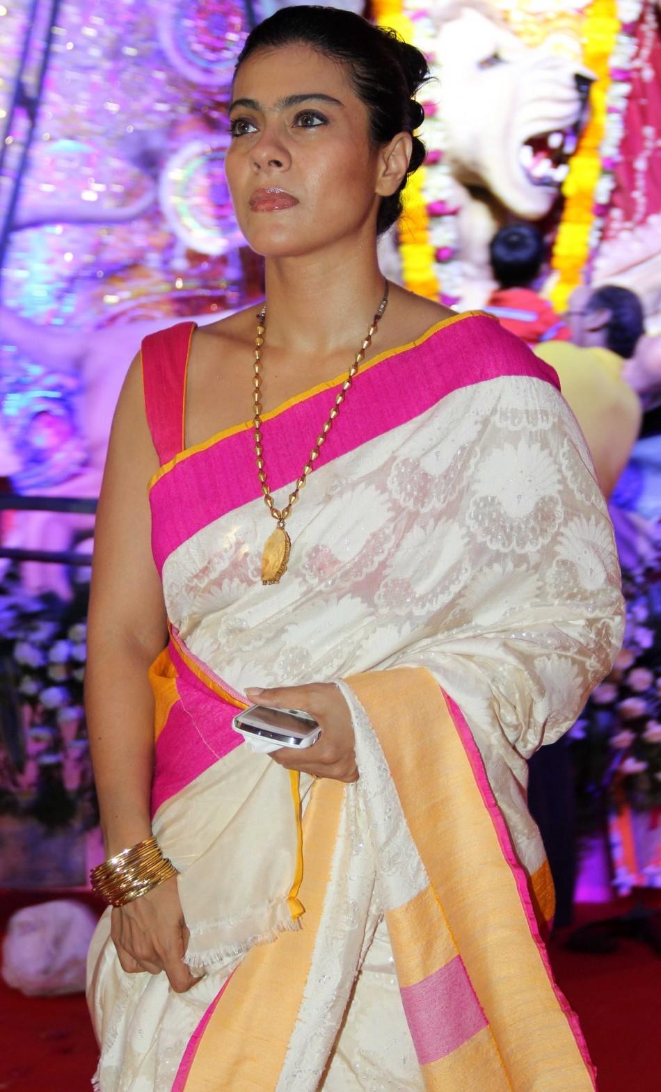 Actres Kajol and family  unhappy with Tansiha's antics in Bigg Boss