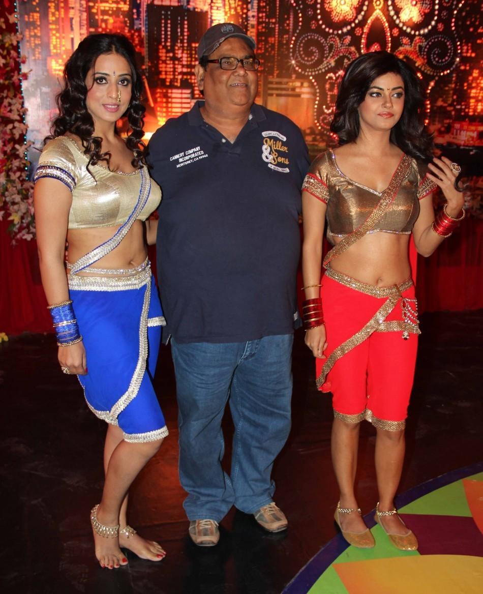 Satish Koushik,Mahi Gill ,Meera Chopra