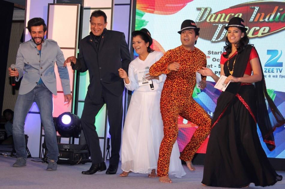 Mithun Chakraborty, Jay Bhanushali