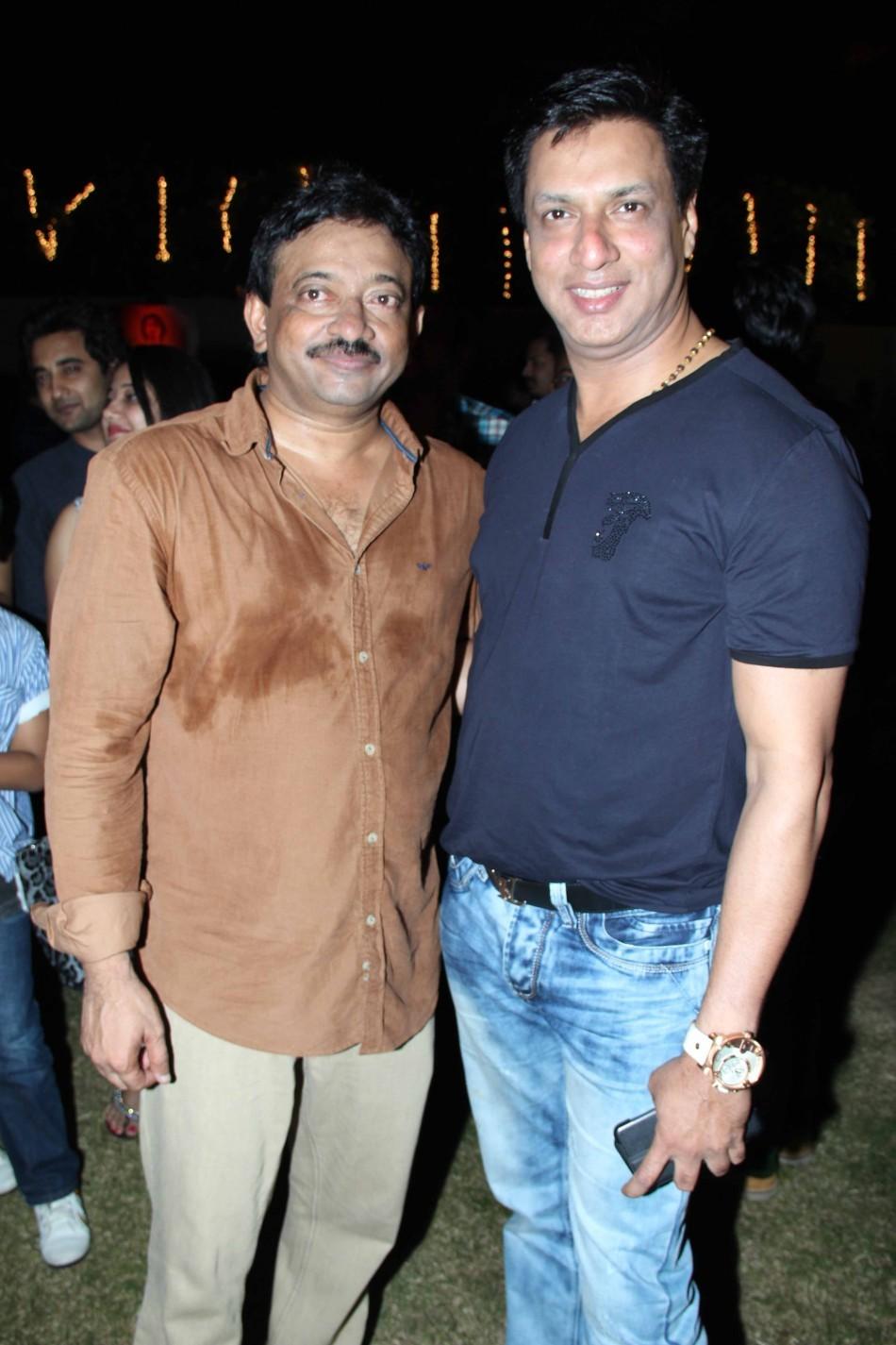 RGV and director Madhur Bhandarkar