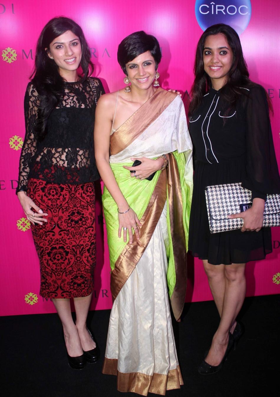 Mandira Bedi, Sapna Pabbi, Kiran Rathod