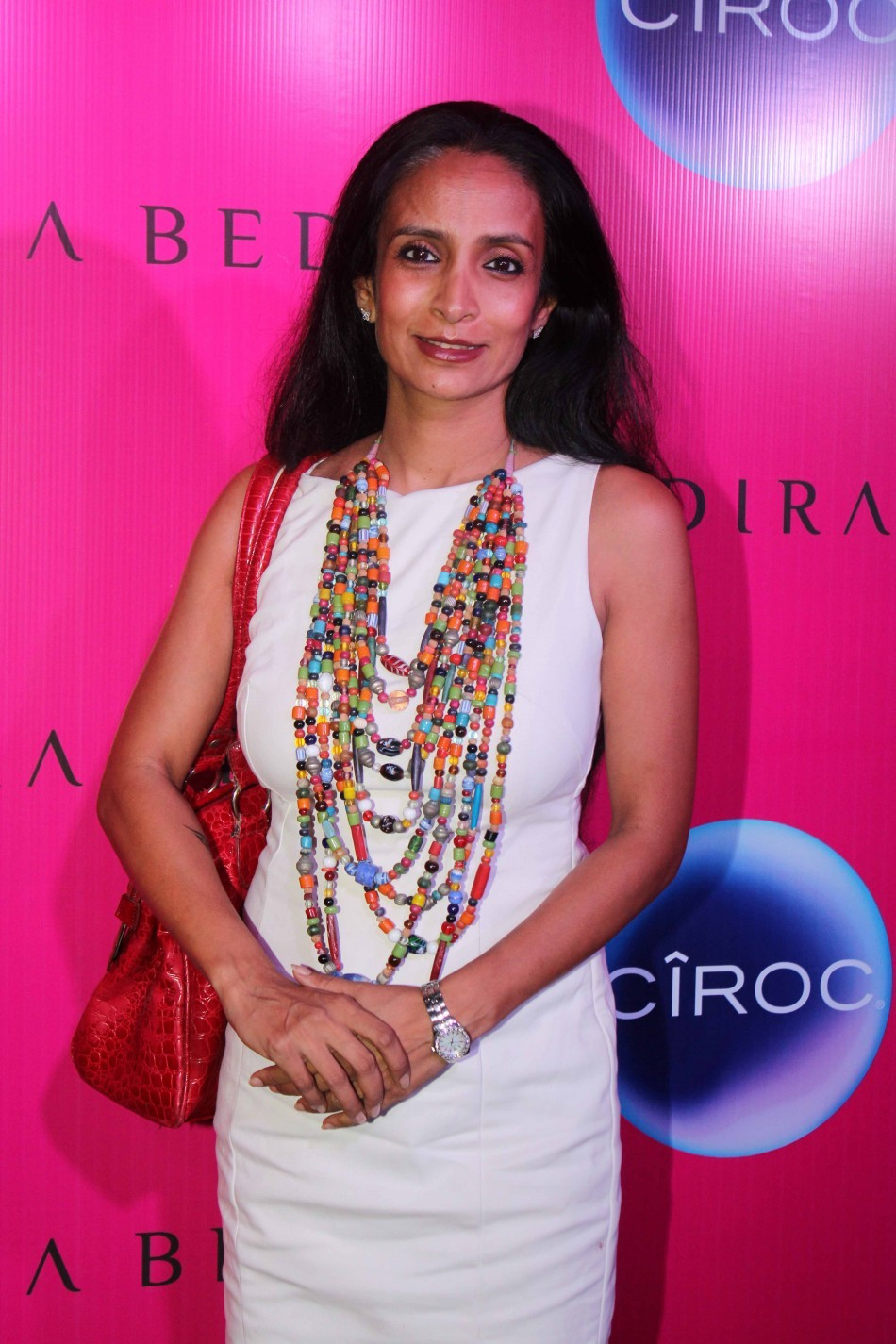 Mandira Bedi's sari store inauguration