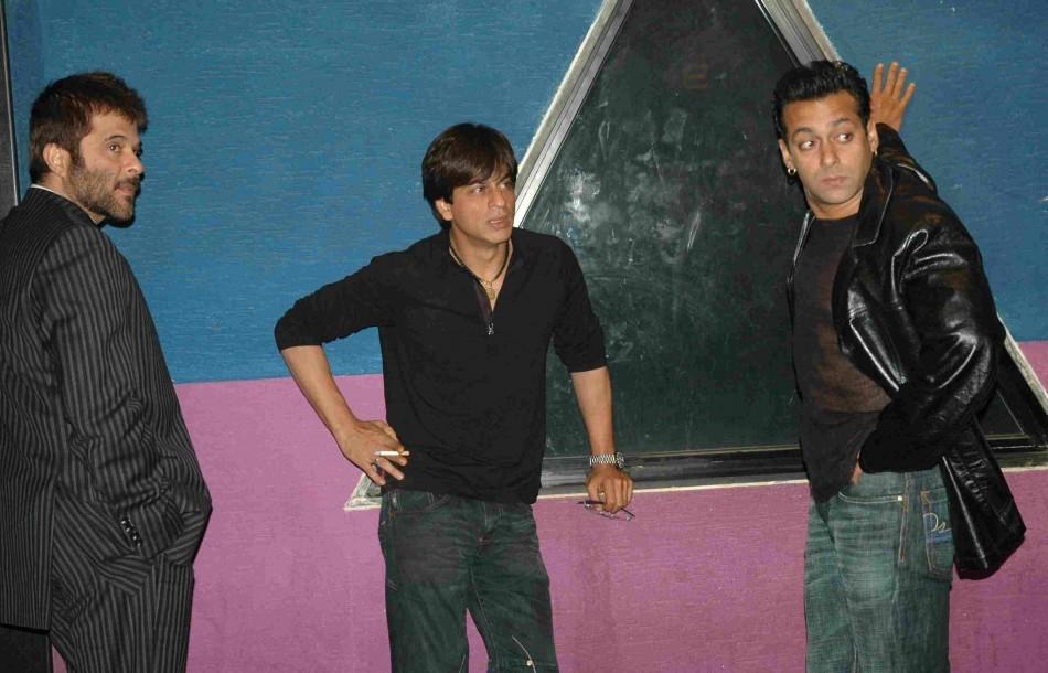 Shah Rukh Khan, Salman Khan, Anil Kapoor