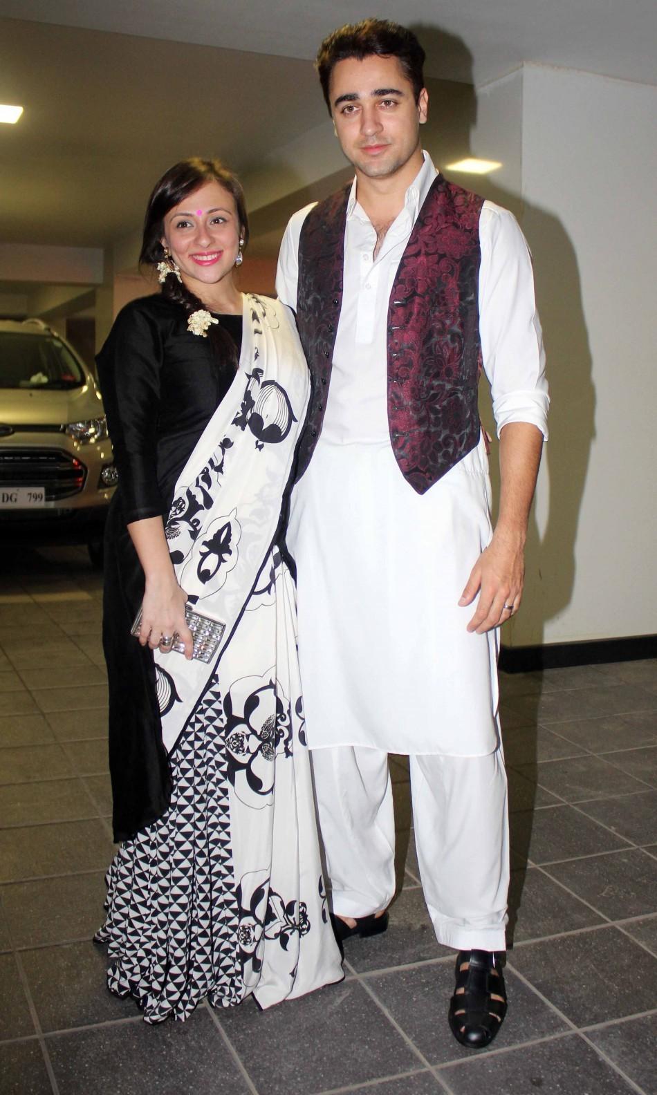 Imran Khan and wife Avantika(Varinder Chawla)