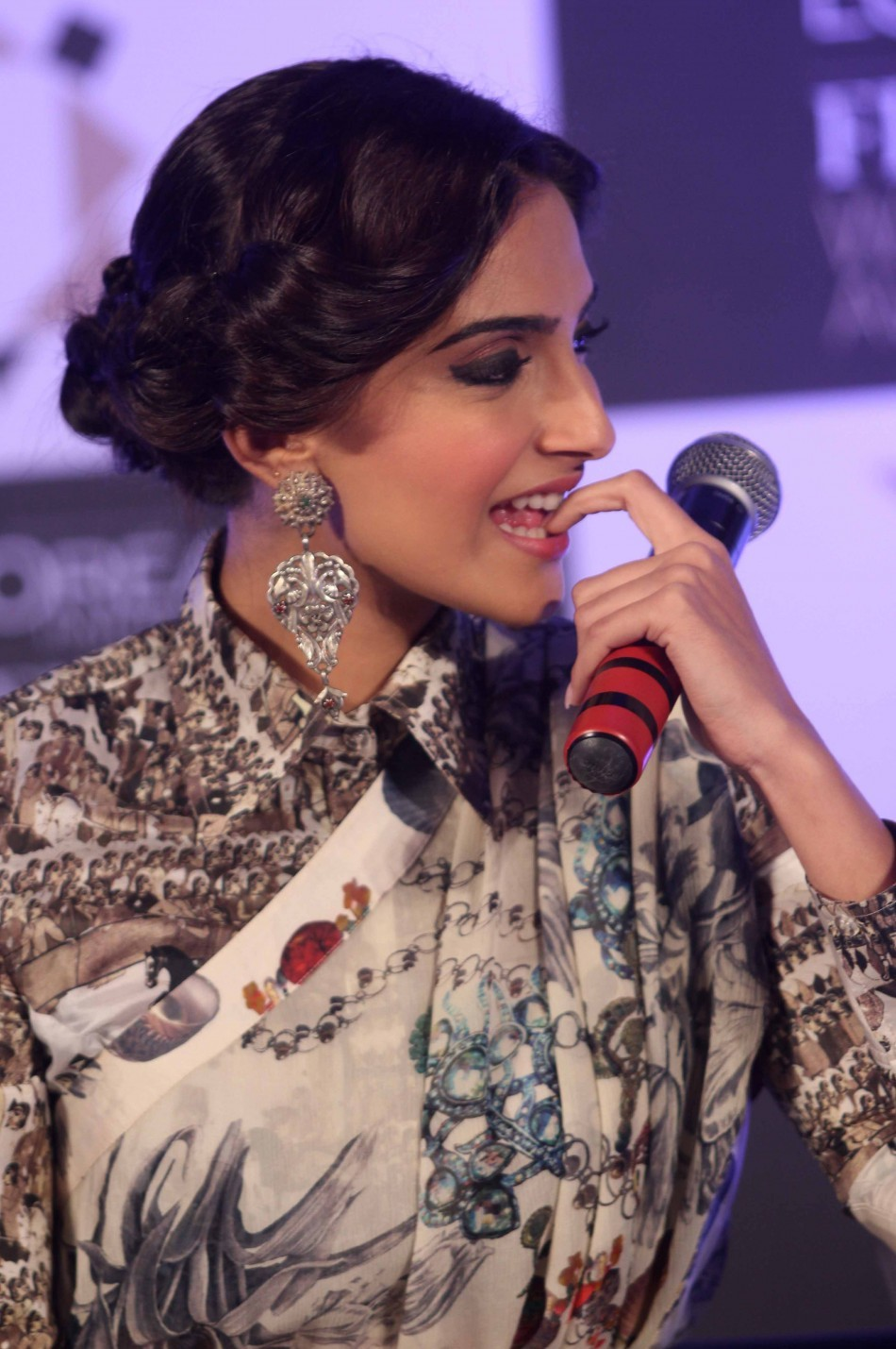 Sonam Kapoor at the 3rd edition of L'Oreal  Paris Femina Women Awards nominee announcement
