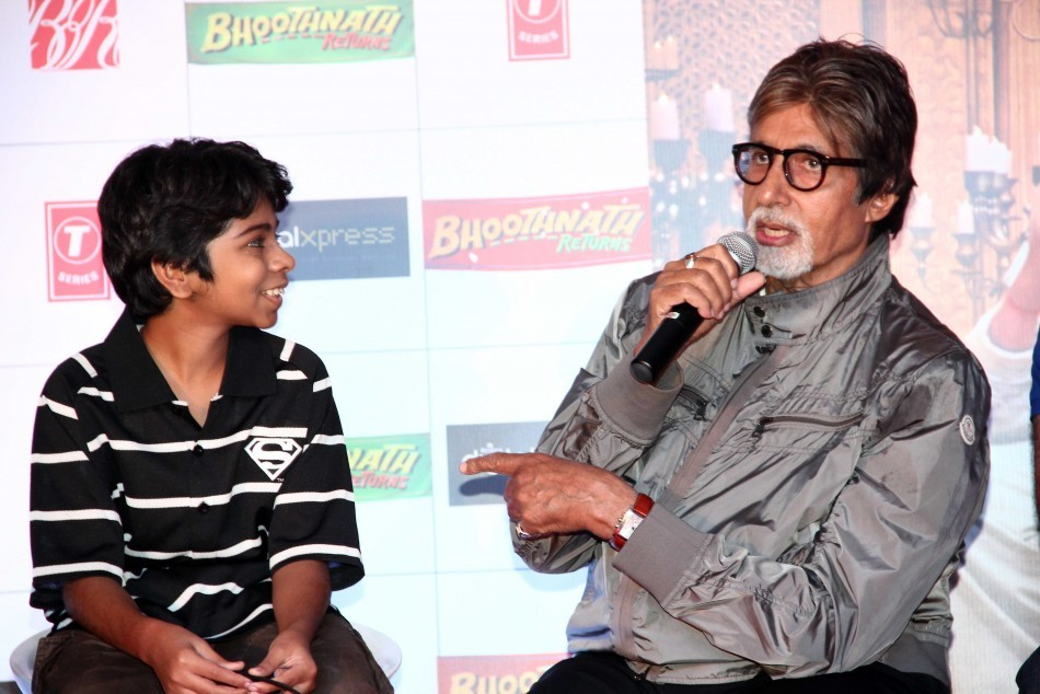 Promotion of Bhoothnath Returns at Reliance DIgital Express