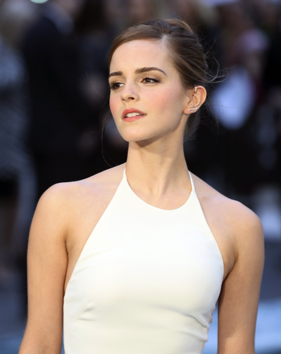Cast Member Emma Watson Arrives for the UK Premiere of 'Noah' at Leicester Square in London