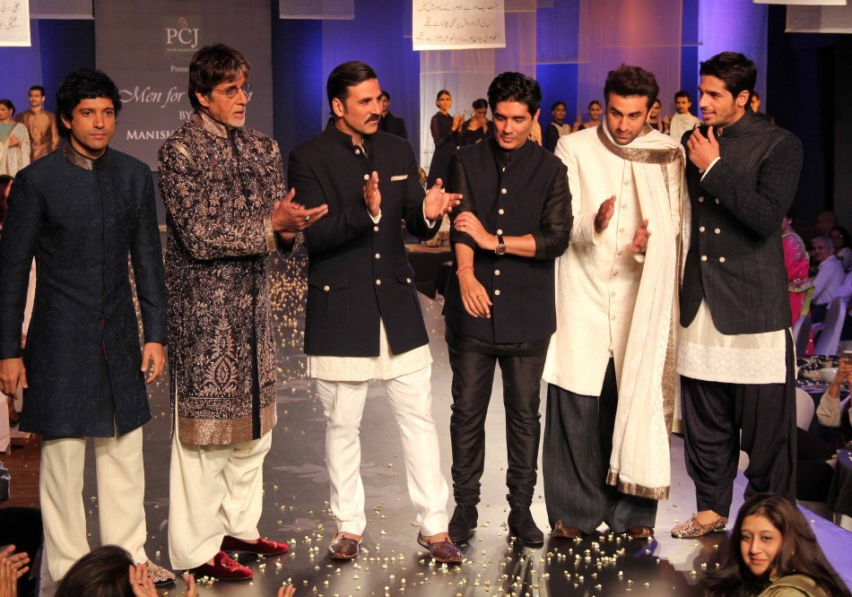 Celebrities at 'Men For Mijwan' charity fashion show by Manish Malhotra