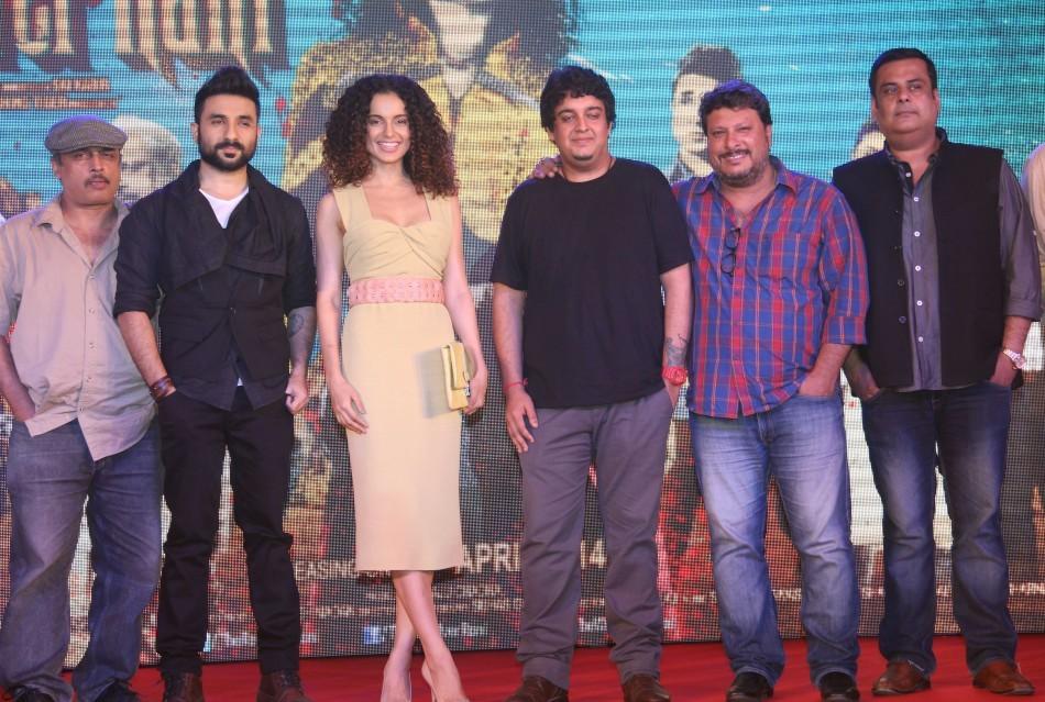 Kangana Ranaut and Vir Das attend the press meet for 'Revolver Rani'