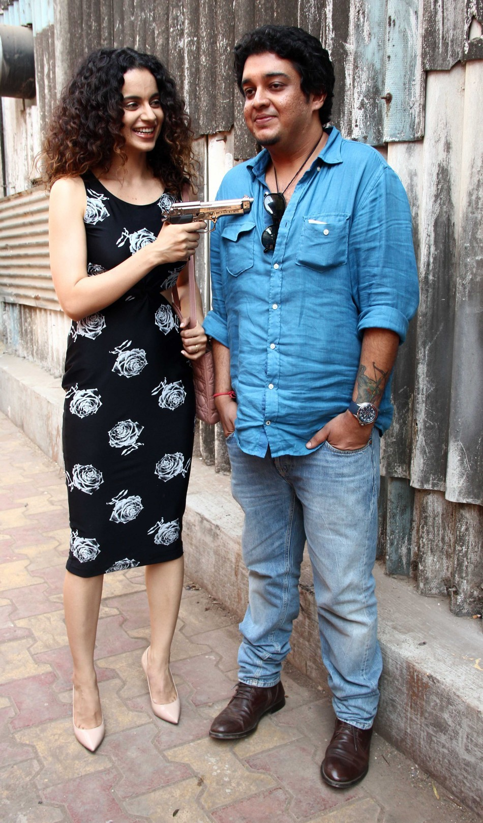 Promotion of Revolver Rani at Filmaalya Studio