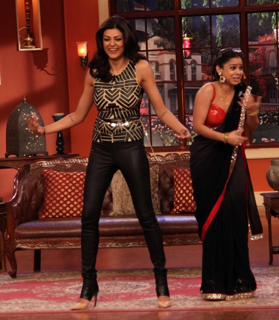 Sushmita Sen on the show