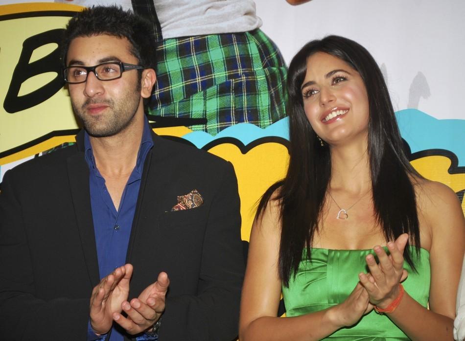 Ranbir Kapoor (L) and Katrina Kaif