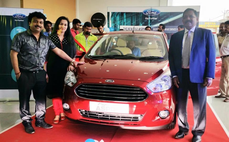 Deepak dev,Ford figo aspire,Ford figo aspire launch,Ford figo aspire unveiled in kochi