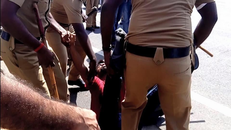 Ranjini Haridas,pondicherry university,pondicherry university students,pondicherry university students protest,protest in pondicherry university