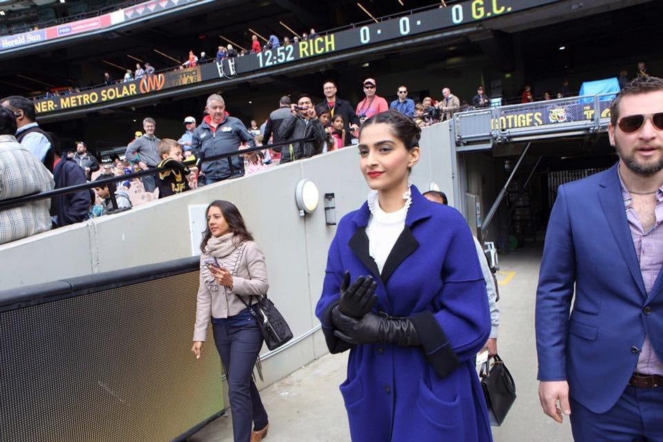 Sonam kapoor latest photos,Sonam Kapoor at Indian Film Festival of Melbourne,Sonam Kapoor at IIFM,IIFM,Sonam kapoor in Melbourne