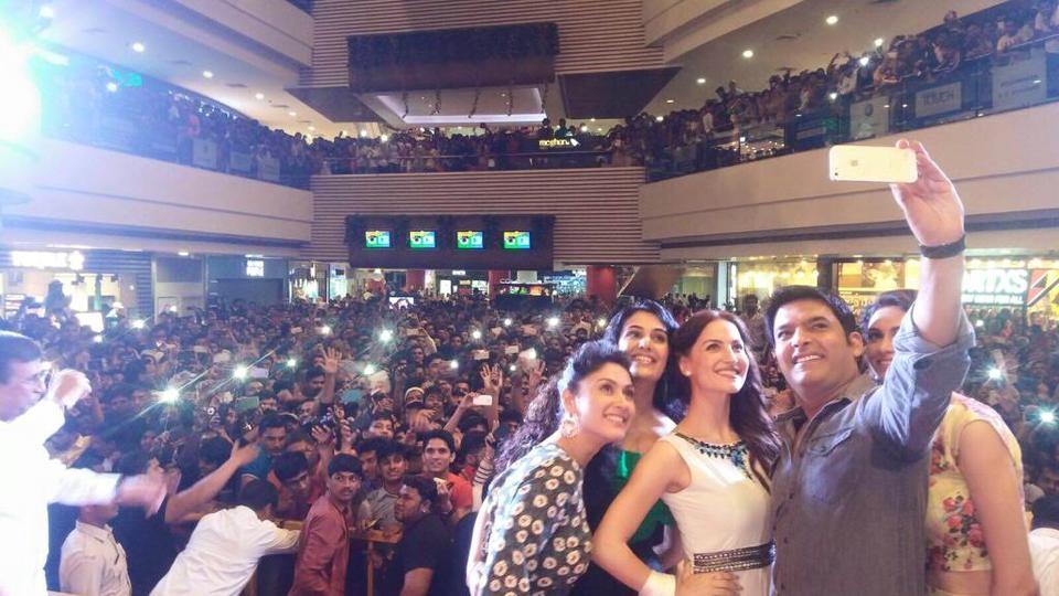 Kapil Sharma,Kapil Sharma film,Kis Kisko Pyaar Karu,Kis Kisko Pyaar Karu promotions,Kis Kisko Pyaar Karu release,Kapil sharma in Pune