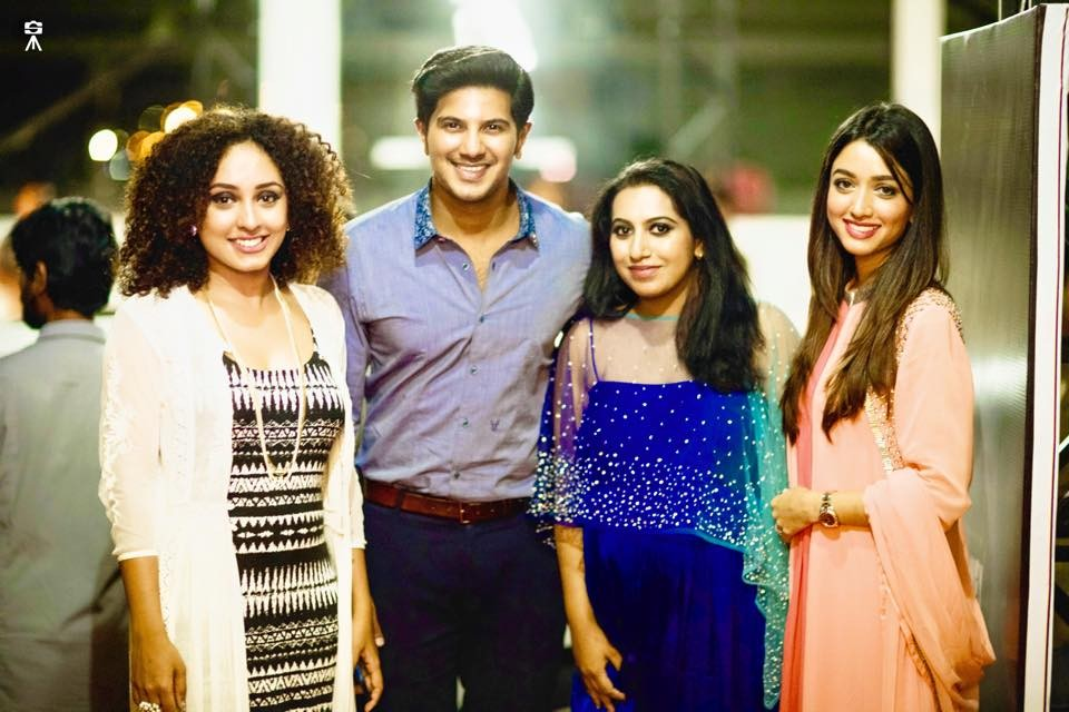 Dulquer Salmaan,Dulquer Salmaan new photos,who is Anna Katharina,Anna Katharina,Honey Bee Music Launch,Honey Bee music,anna's Honey Bee music