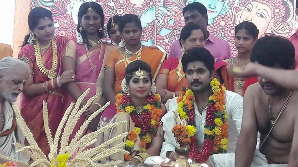 Devika Madhavan,Devika Madhavan wedding,actress Sruthi Nair wedding,Aditya Anbu,Aditya Anbu wedding,Aditya Anbu weds Sruthi Nair,Aditya Anbu marries Devika Madhavan