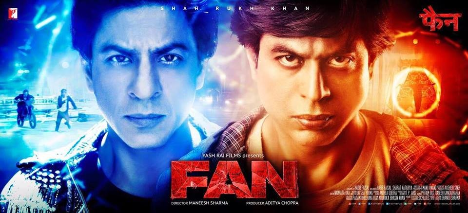 Fan,bollywood movie Fan,Fan preview,Shah Rukh Khan,Shahrukh Khan,SRK,Shah Rukh Khan in Fan,Fan review,Fan movie review