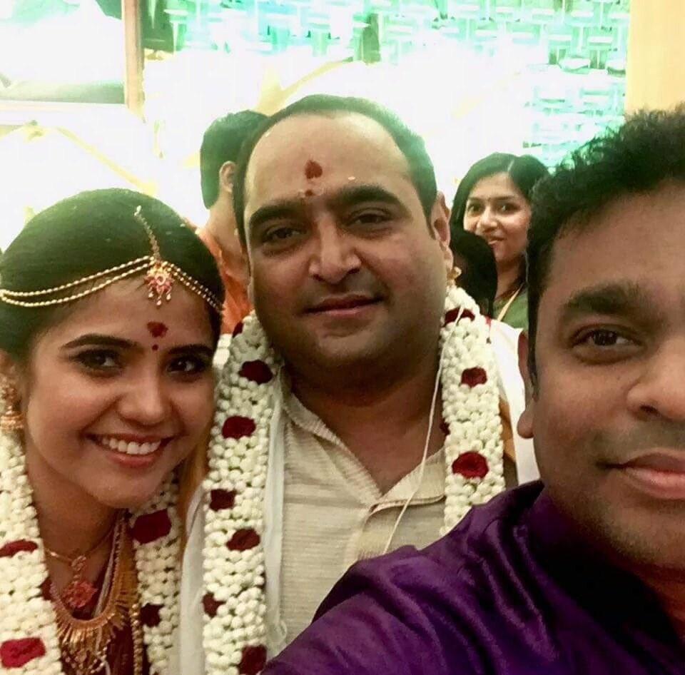Vikram Kumar and Srinidhi wedding,Vikram Kumar and Srinidhi marriage,Vikram Kumar wedding,Vikram Kumar marriage,Suriya,AR Rahman,Srinidhi wedding,Srinidhi marriage,Vikram Kumar Srinidhi wedding pictures,Srinidhi wedding pics