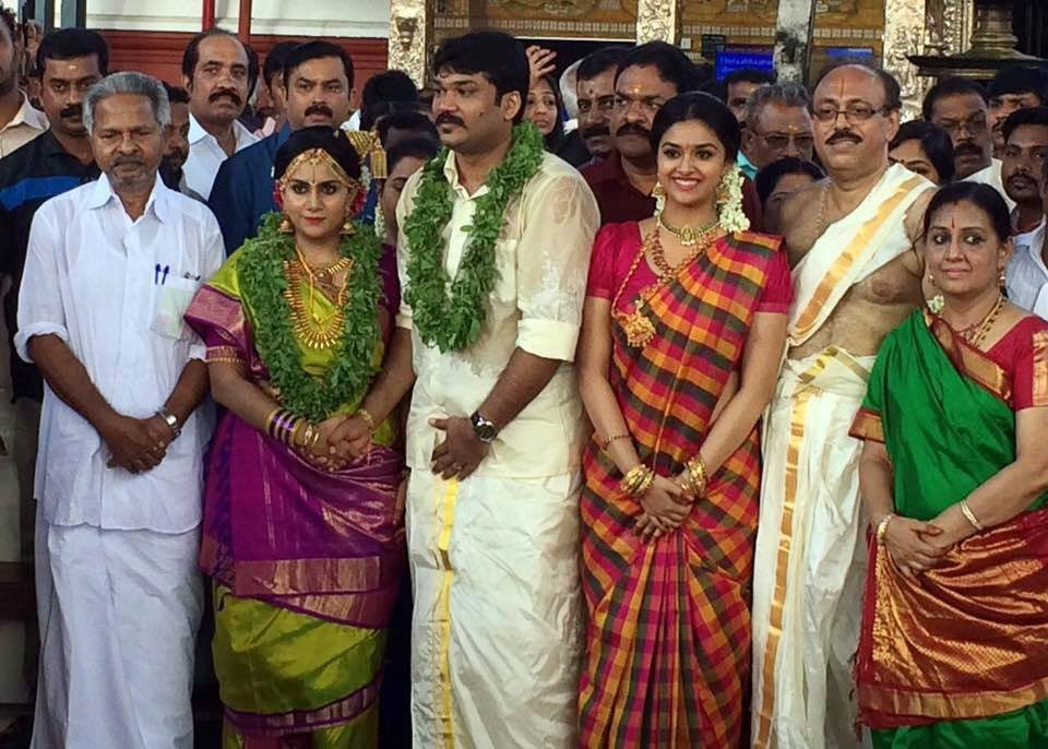 Keerthy Suresh,Keerthy Suresh wedding,Keerthy Suresh sister wedding,Keerthy Suresh sister marriage,Keerthy Suresh marriage,Revathy,vijay,vijay 60,ilayathalapathy vijay