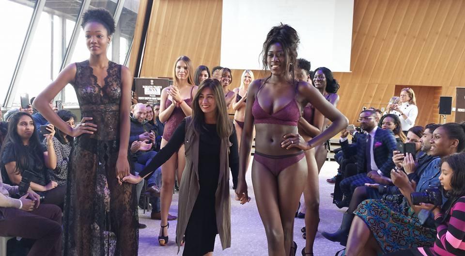 Lingerie,Lingerie fashion,Lingerie fashion show,Lingerie show,Lingerie fashion show at Eiffel Tower,Eiffel Tower,Karishma Jumani