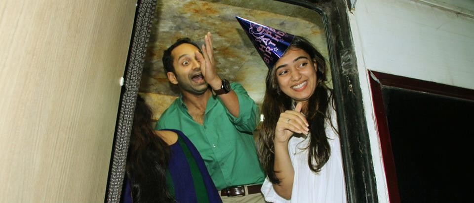 Fahadh and Nazriya