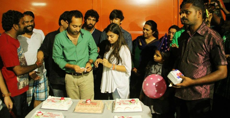 Fahadh Birthday Celebartion