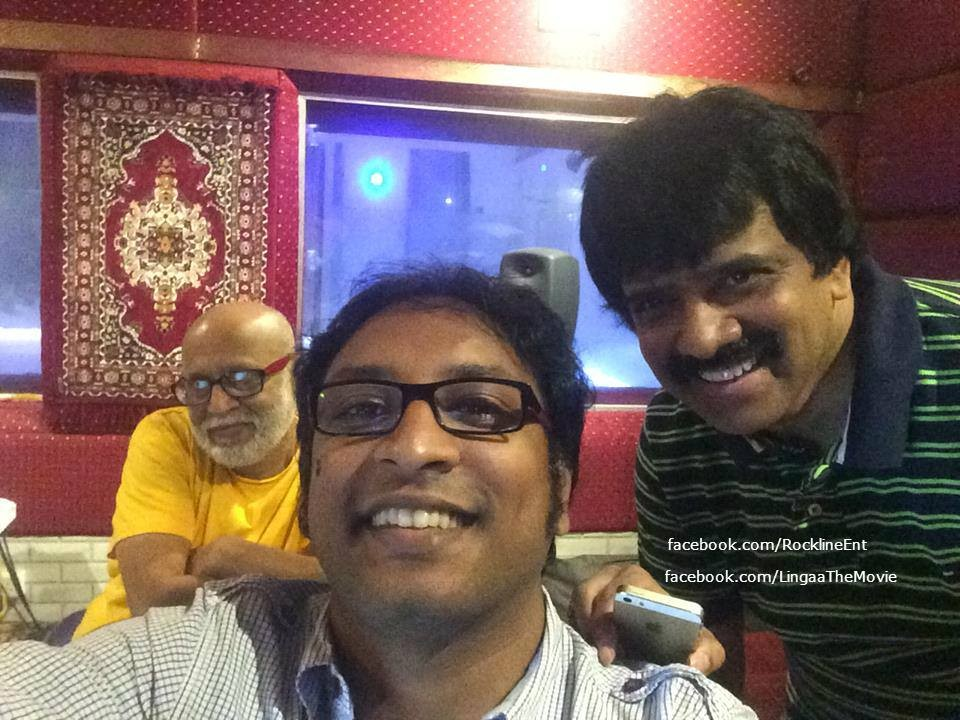 Srinivas and PA Deepak Lingaa