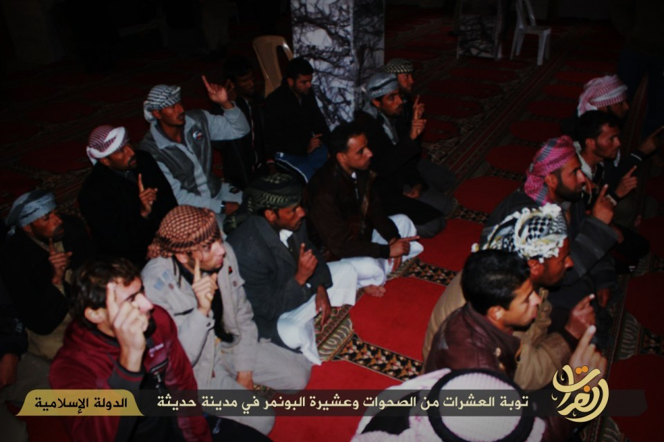 Albu Nimr tribe members