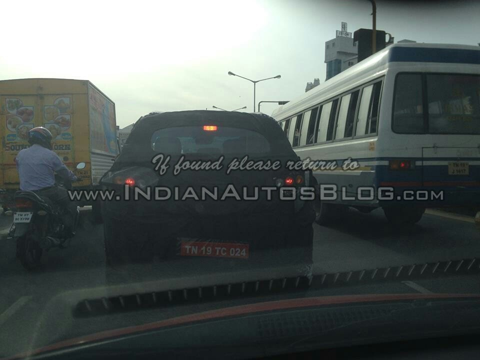 Mahindra S101 Compact SUV Spied Testing Again