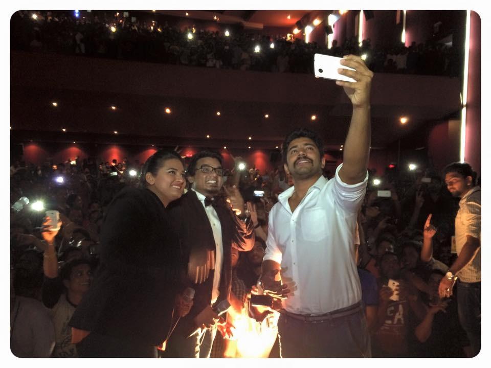 Oru Vadakkan Selfie team in Dubai