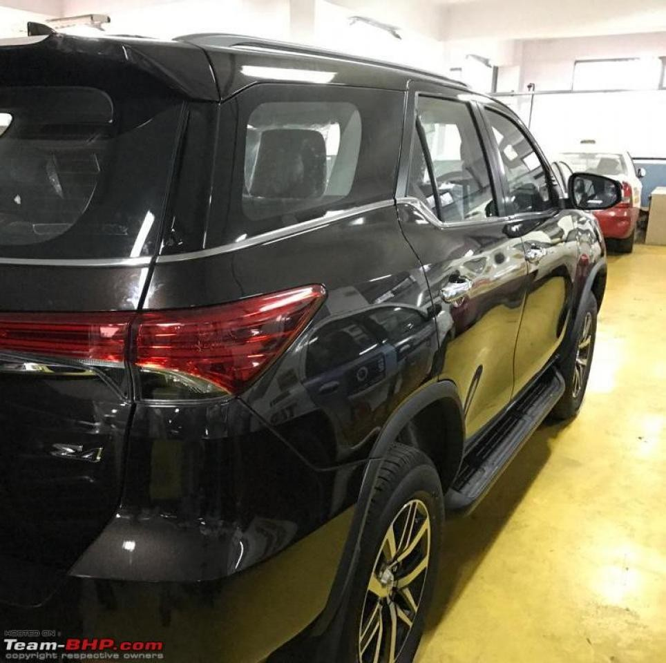 New Toyota Fortuner resurfaces in fresh spy shots