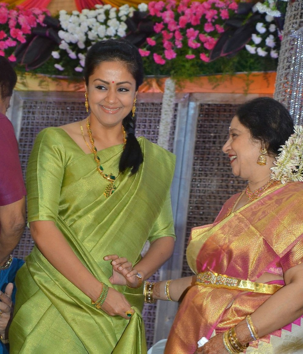 Jyothika,Vishal,Shanthanu,Jayachitra son Amresh Keerthi Wedding Reception,Amresh Keerthi Wedding Reception,Amresh Keerthi,Keerthi Hanusha Wedding Reception