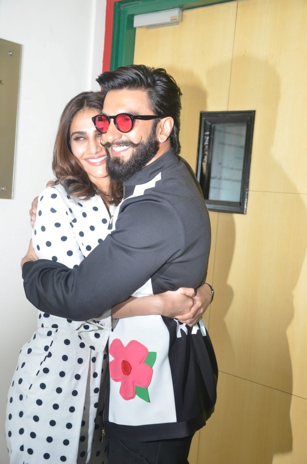 Ranveer Singh and Veena Kapoor,Ranveer Singh,Veena Kapoor,Befikre,Befikre promotion,Befikre movie promotion,Befikre promotion on Radio Mirchi studio,Befikre movie promotion on Radio Mirchi studio,Radio Mirchi studio,Befikre pics,Befikre images,Befikre pho