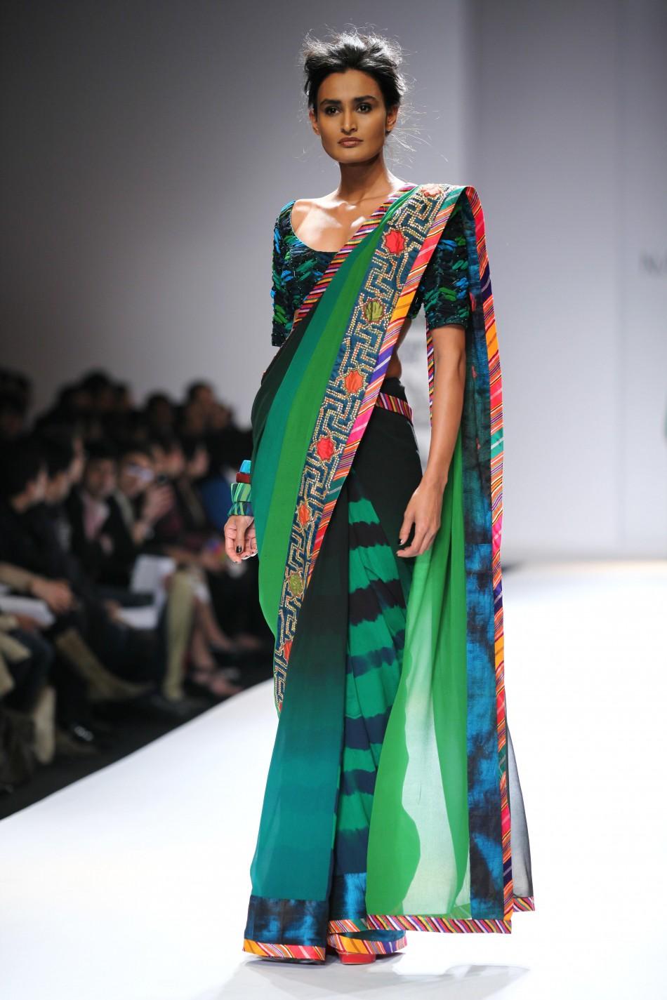 Day 2 Wills Lifestyle India Fashion Week Autumn Winter 2012 Photo