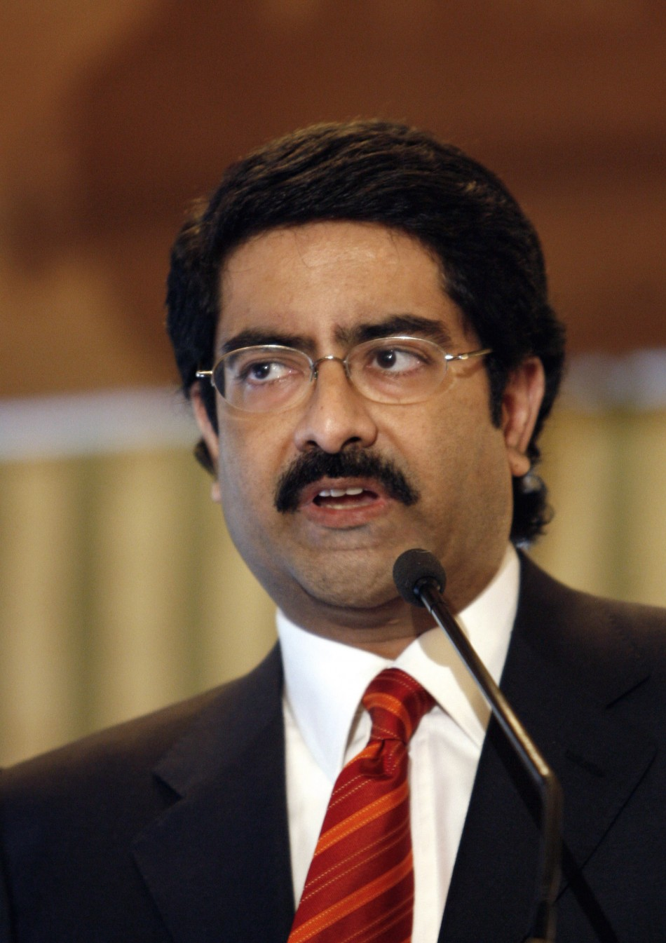 Kumar Birla earned a  million dollar salary, leaving the net worth at 9200 million in 2017