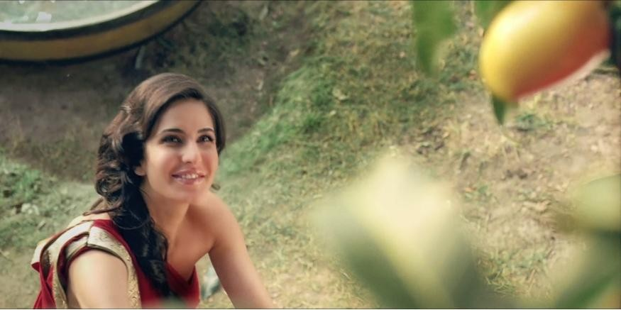 Katrina Kaif in Mango Slice commercial